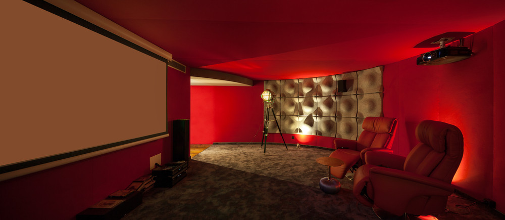 Custom Home Movie Theater System Installation in Federal Way
