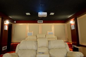 Custom Home Movie Theater System Installation in Renton