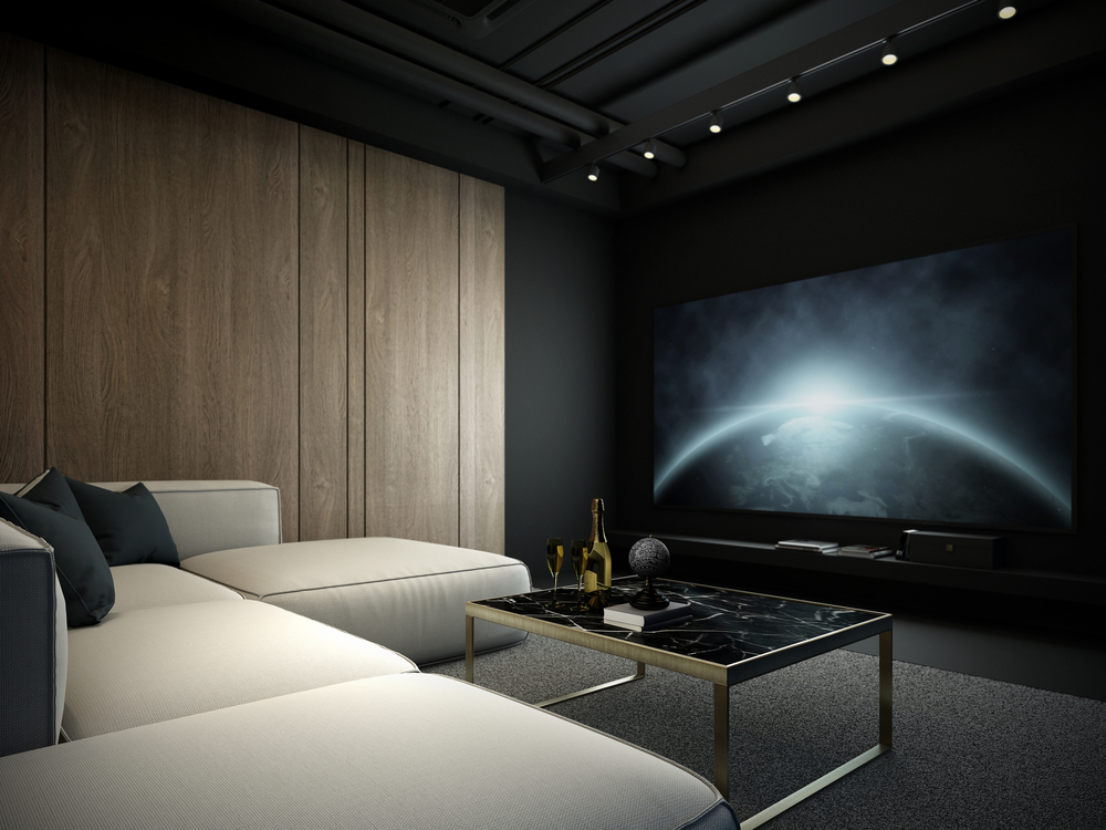 Treat Yourself To Custom Home Movie Theater Installation In Edmonds
